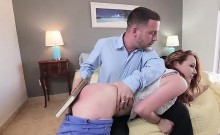 Hot Teen Leigh Rose Throated And Screwed