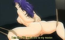 Teen curvy hentai sex slave gets tight cunt fucked hard