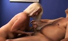 Blonde Wrinkled Woman Getting Fucked